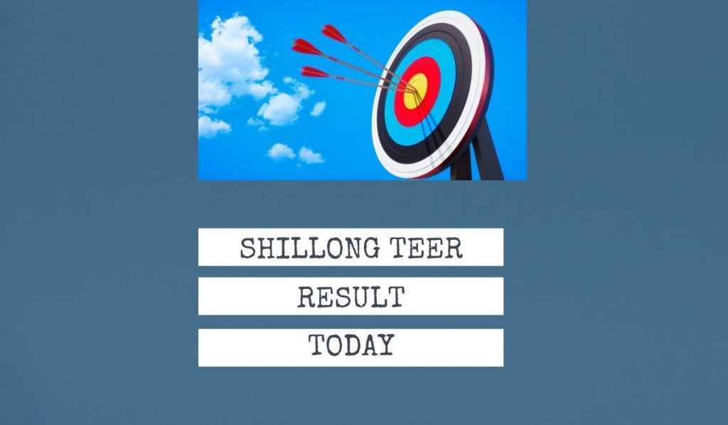 Shillong Teer Result Today Game - First & 2nd Round result