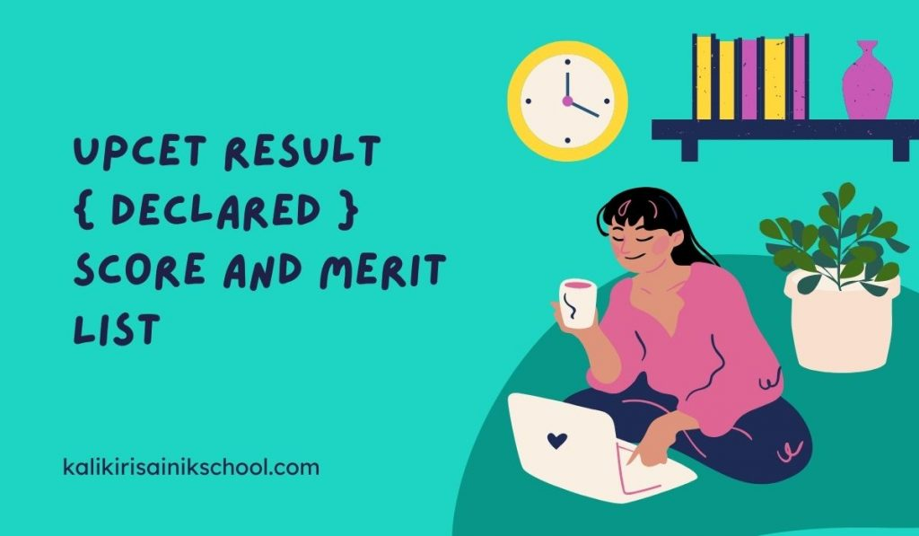 UPCET Result 2021 { Declared } at upcet.nta.nic.in Score and Download Merit List
